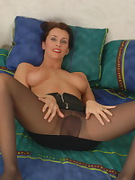Hot mom Angie loves to get naked and dirty