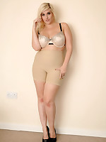 Raffi - Beautiful Voluptuous Woman All Curves & Girdle!