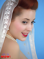 Lucy V as your sweet yet sexy bride wants to take you for a new sexy adventure. Don't be late!